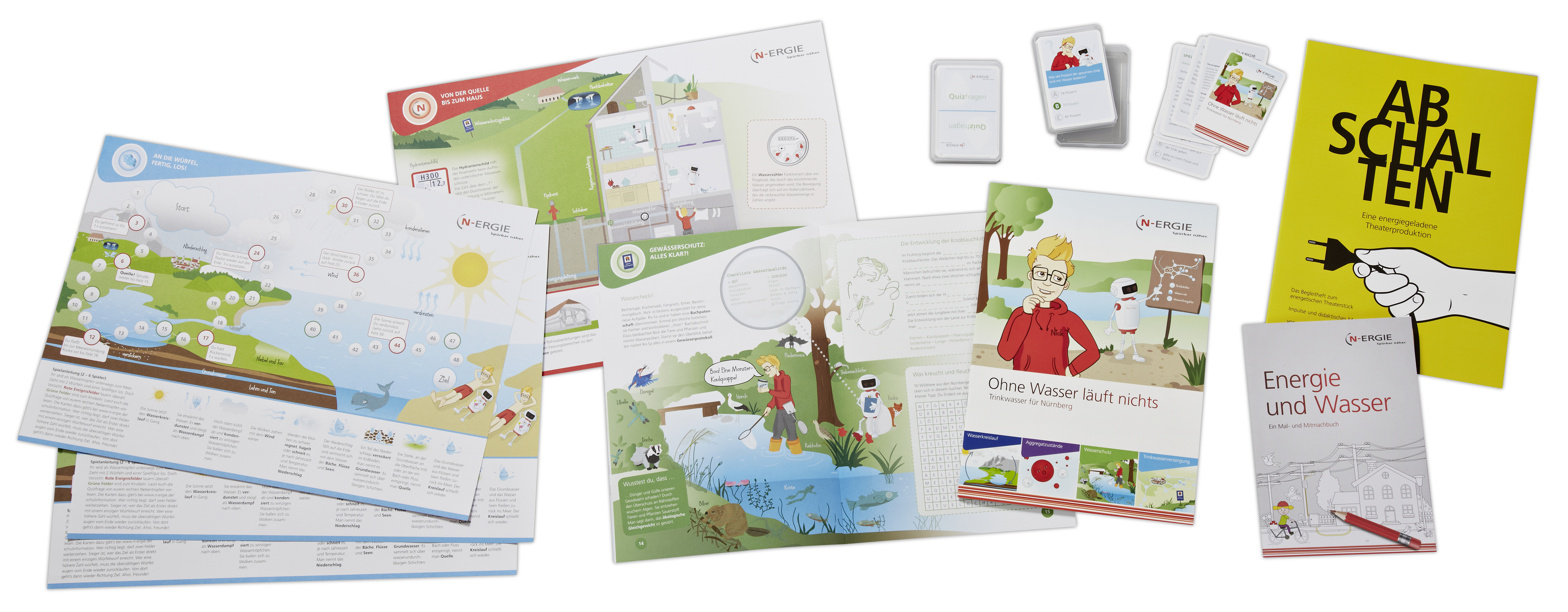 N-ERGIE Schulinfo – Unterrichtsmaterial für Lehrer und Schüler