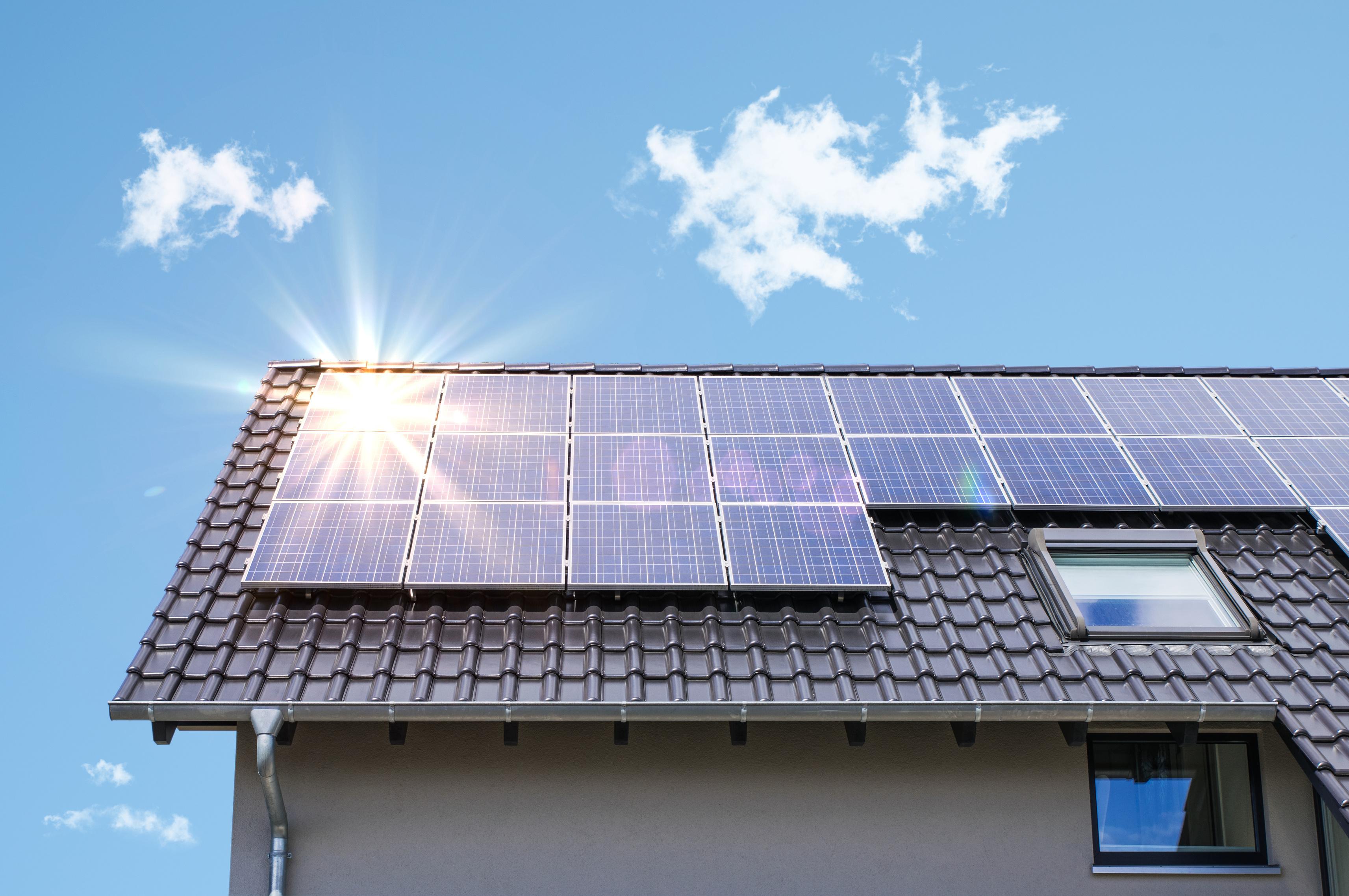 Photovoltaik Anlage zusammen mit der N ERGIE